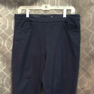 J. Crew Dannie Skinny Pant Navy Blue